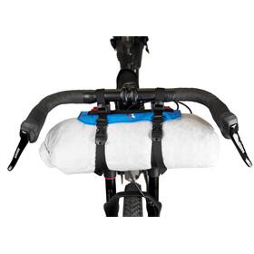 Revelate Designs Pronghorn S Handlebar Bag incl. 7,5l Waterproof Packsack blue/white